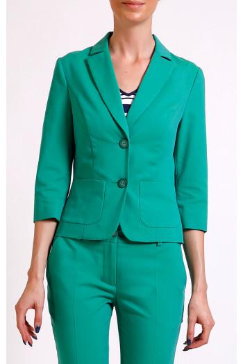 Elegant jacket with 3/4 sleeves