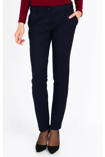 Slim-fit suit trousers