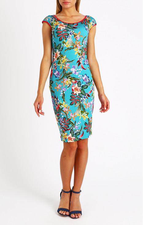 Straight summer dress