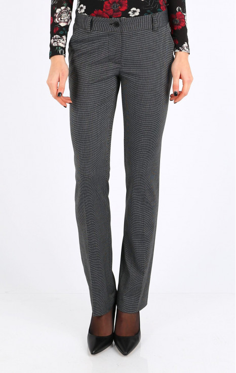 Straight - fit trousers