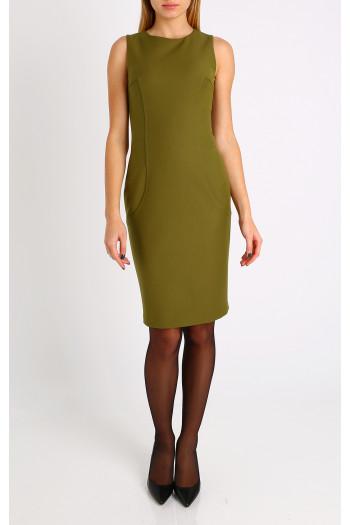 A-line sleeveless dress