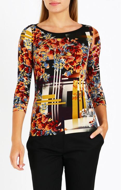 Elegant 3/4 sleeve blouse