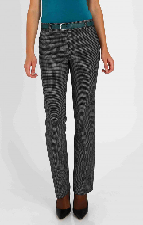 Wide suit trousers