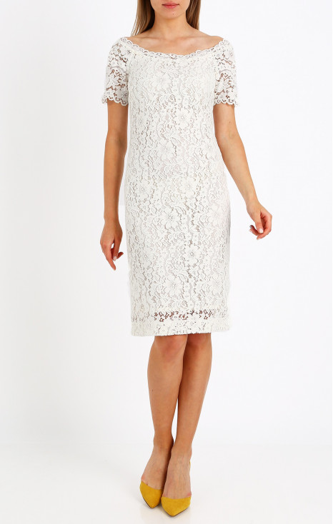Formal lace dress