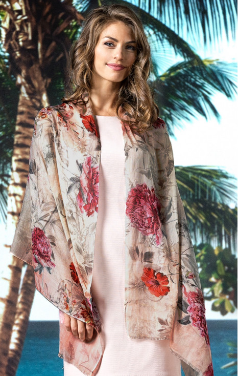 Cotton-modal- silk scarf