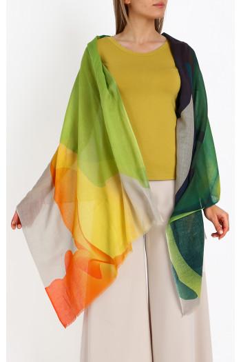 Cotton-modal- linen  scarf