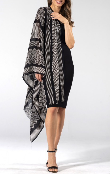 Cotton-modal scarf