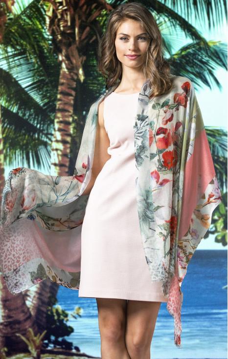 Silk-modal scarf