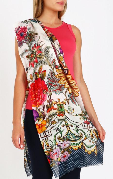 Cash-wool-modal scarf