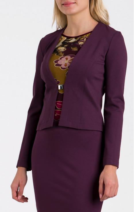 Attractive purple jacket