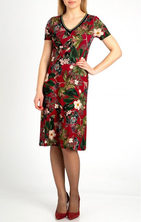 Beautiful high waist A-line dress