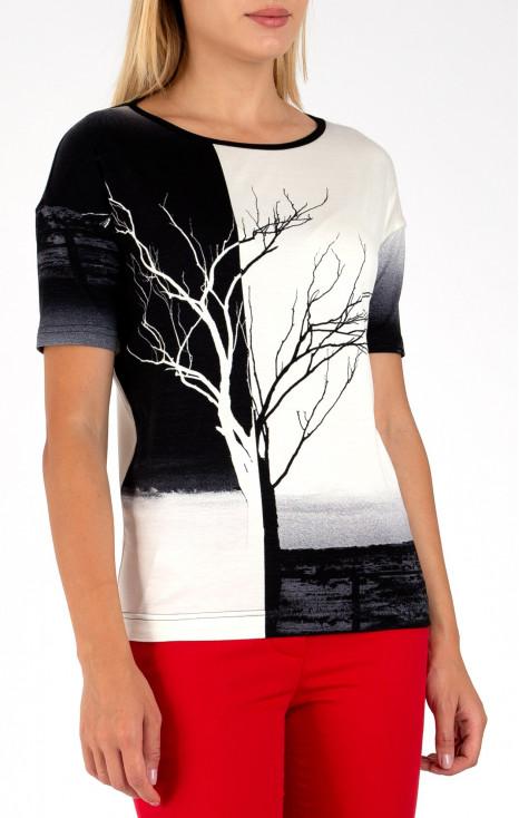Loose-fit blouse