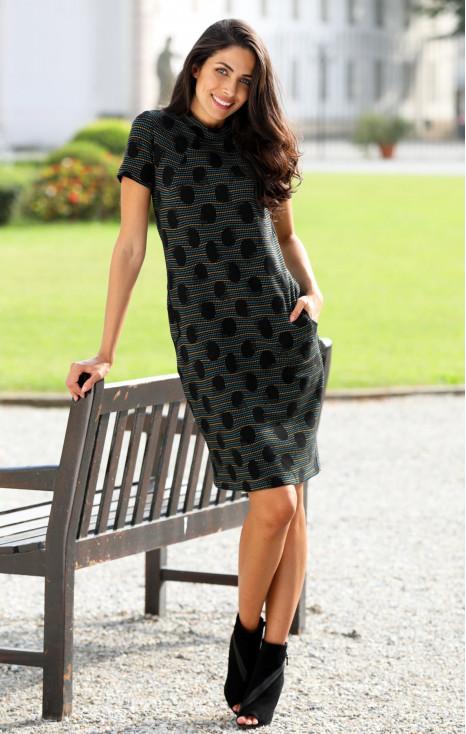 Loose short sleeve dress